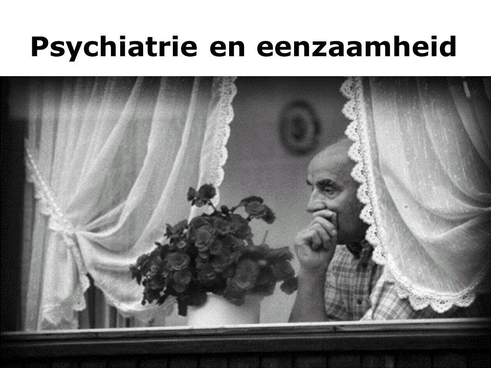 Psychiatrie en eenzaamheid 10