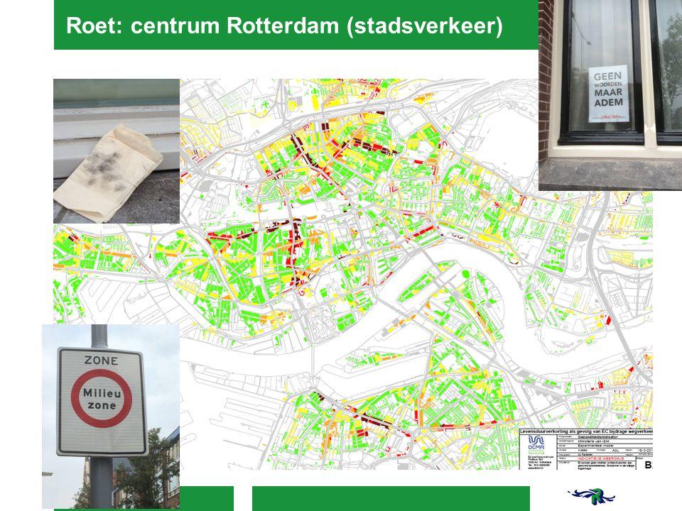 Roet: centrum Rotterdam (stadsverkeer)