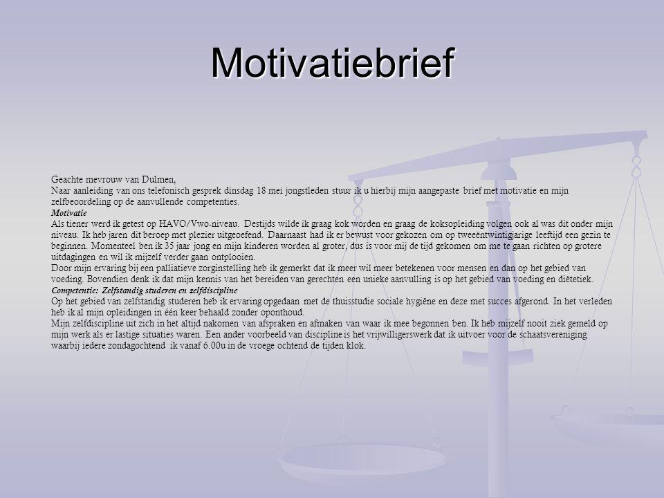 Verslag (1) Integrale opdracht: Vitalis kiest voor gezondheid De kop is eraf.