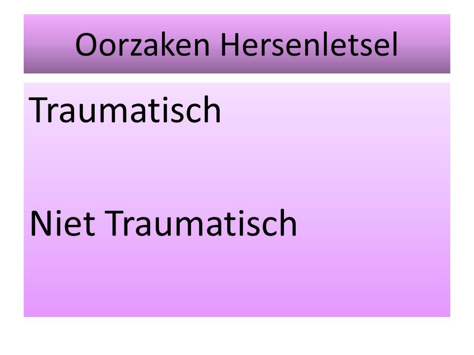 Oorzaken Hersenletsel Traumatisch Niet Traumatisch