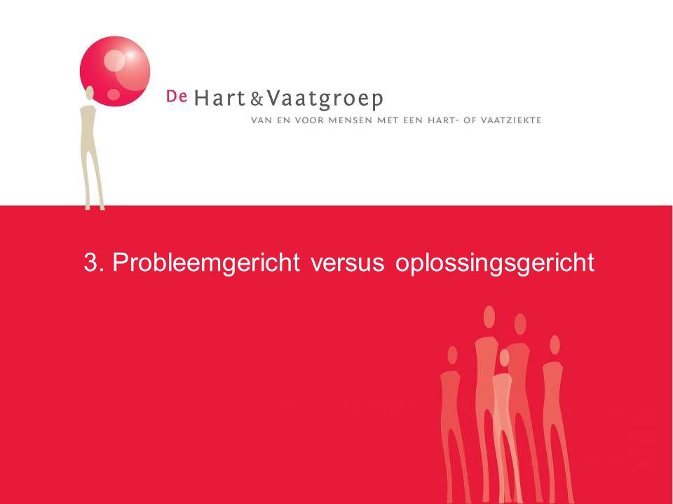3. Probleemgericht versus oplossingsgericht