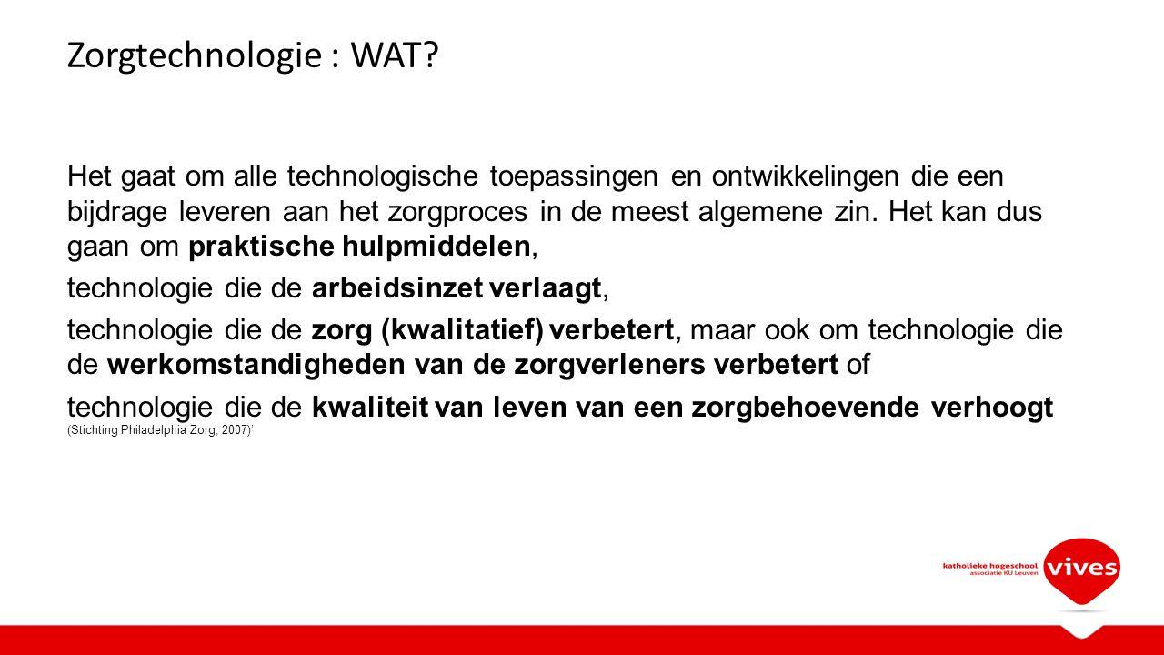 Zorgtechnologie : WAT.