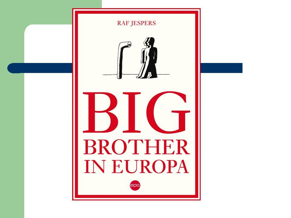 Big Brother - Snelle evolutie laatste decennium -Europese dimensie - Big Brother: is het staatsapparaat (en ondernemingen) - Botst met privacy (= grondrecht) - Advocaat: 'bevoorrechte' positie; breed publiek - Non-fictie; brandend actueel