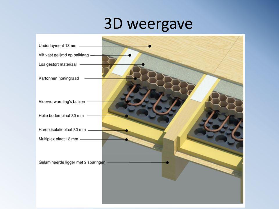3D weergave