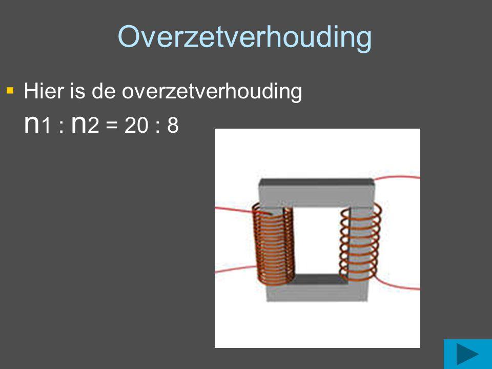 Een Transformator bestaat minstens uit 2 spoelen Primair = Ingang Secundair = Uitgang De primaire spanning is vaak 230 V De secundaire spanning is vaak laag