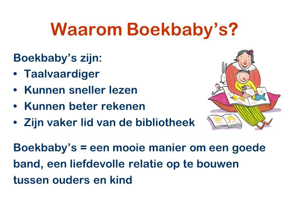 Waarom Boekbaby's.