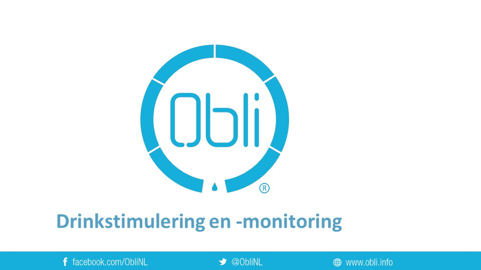 Drinkstimulering en -monitoring