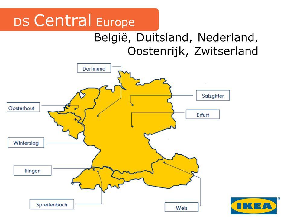 België, Duitsland, Nederland, Oostenrijk, Zwitserland DS Central Europe