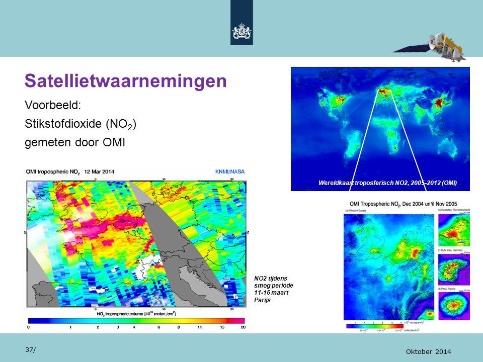 Satellietwaarnemingen 37/ Oktober 2014...