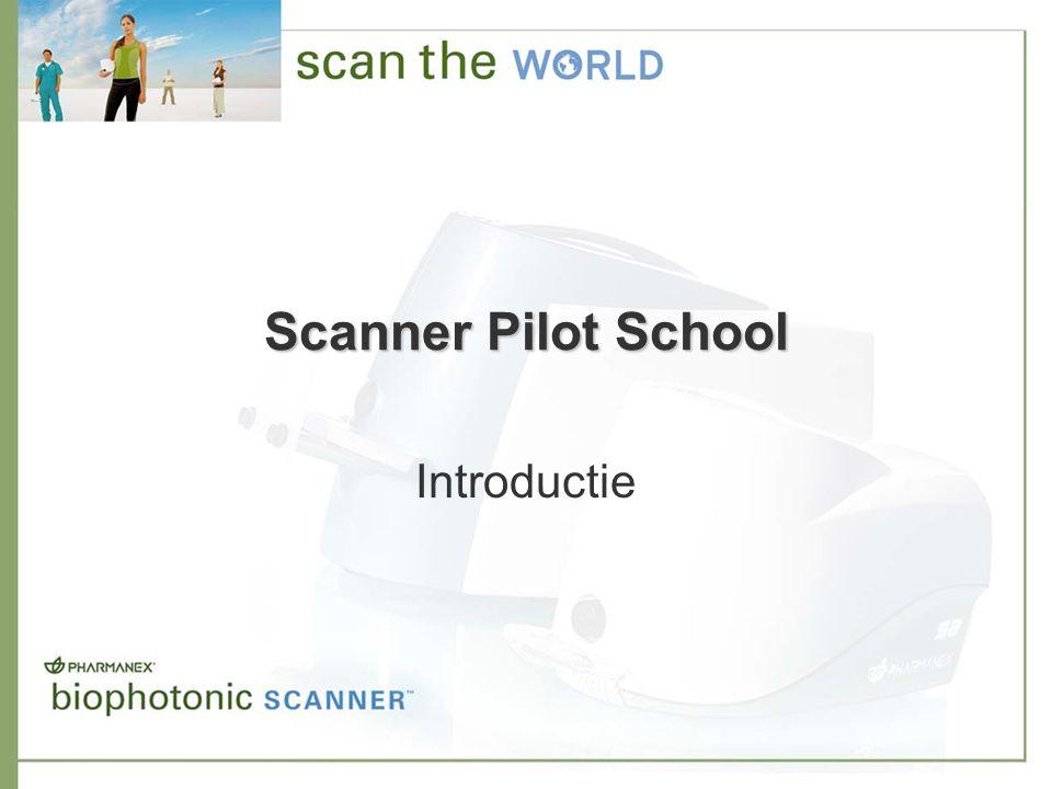 Online tools en rapporten –Huidcarotenoïdenscoreprofielen voor klanten en distributeurs om de huidcarotenoïdenscores te volgen meerdere profielen per account afdrukmogelijkheid Scanner Pilot School voor distributeurs