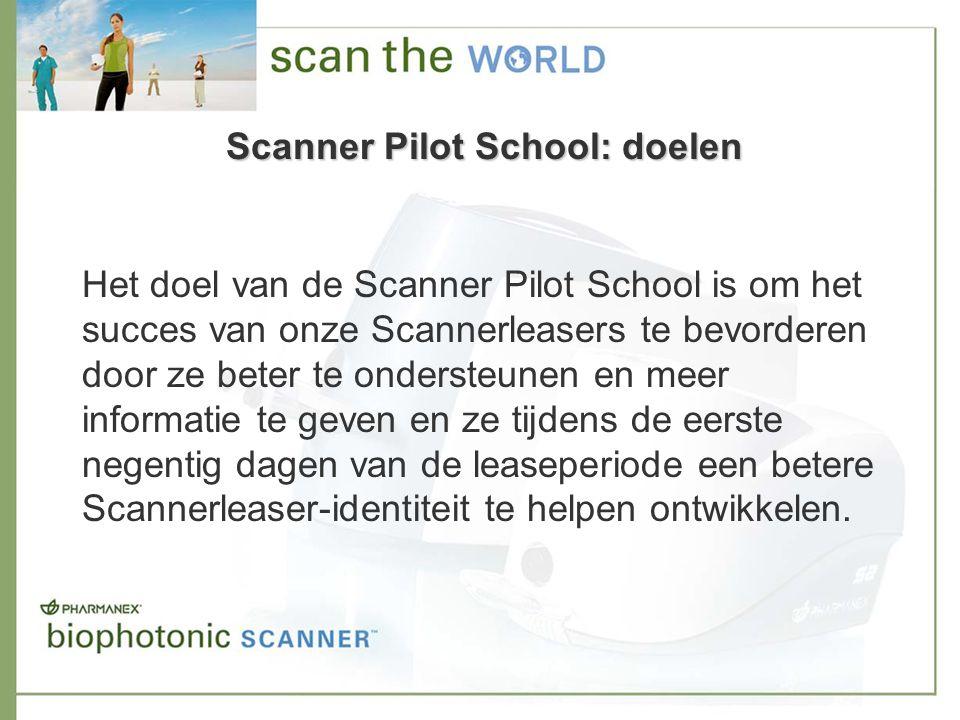 Scanner Pilot School E-mailcampagne –begint als de Scanner is opgestuurd.