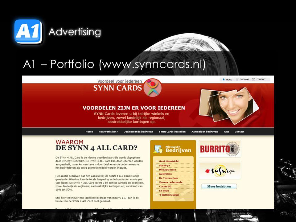 A1 – Portfolio (www.synncards.nl)