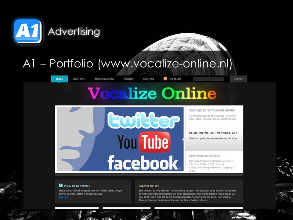 A1 – Portfolio (www.vocalize-online.nl)