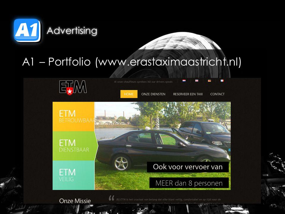 A1 – Portfolio (www.erastaximaastricht.nl)