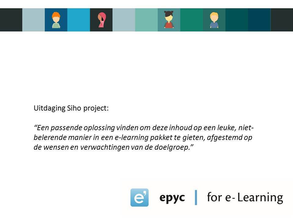 EPYC – for e-learning -e-learning bedrijf -Spin-off van KU Leuven -15 jaar actief