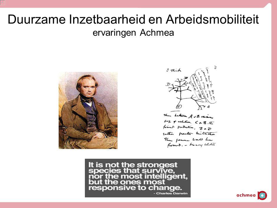 Duurzame Inzetbaarheid en Arbeidsmobiliteit ervaringen Achmea