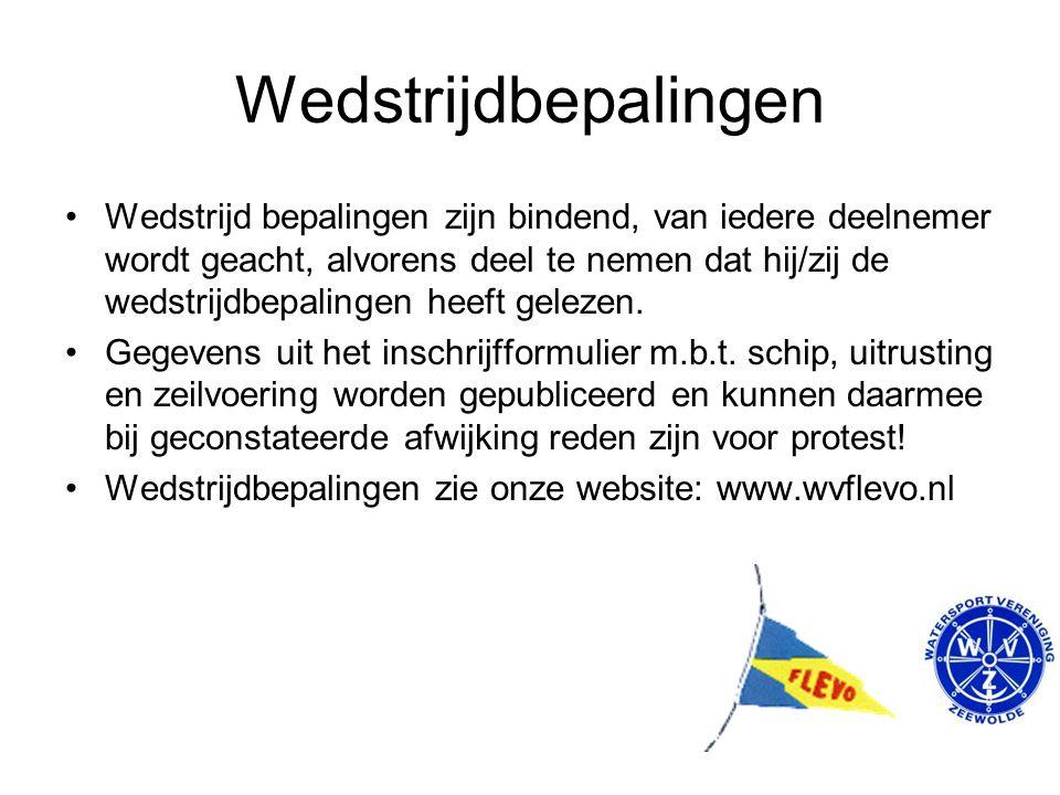 Woensdag Avond Competitie 2015 Intekenlijst Bemanning gezocht.