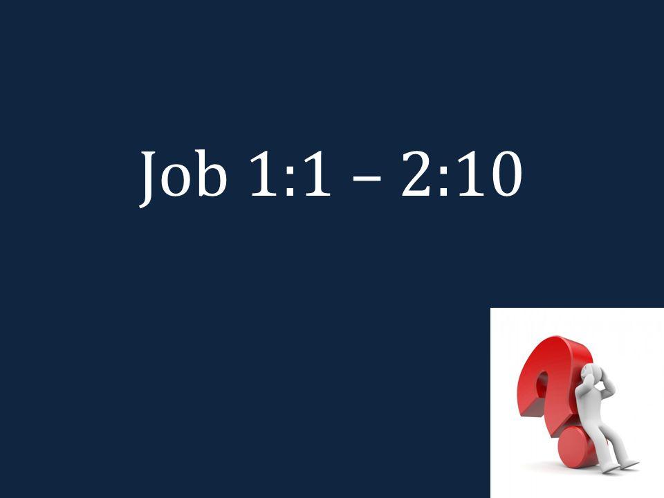 Job 1:1 – 2:10