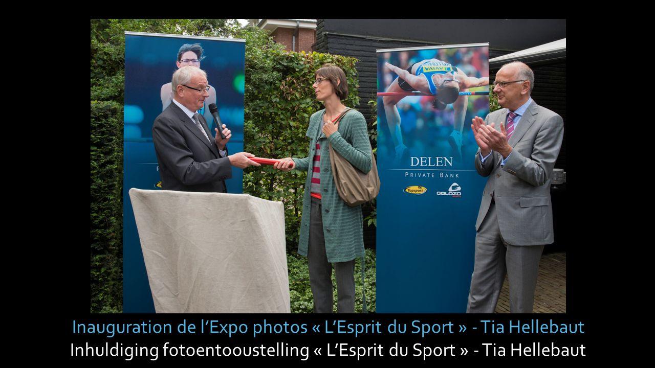 Inhuldiging fotoentooustelling « L'Esprit du Sport » - Gaston Roelants