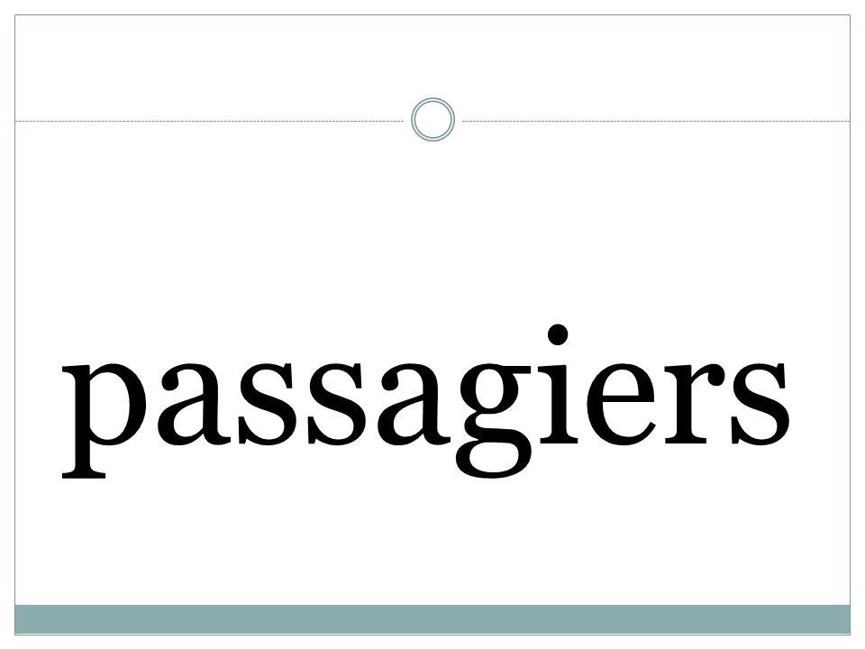passagiers