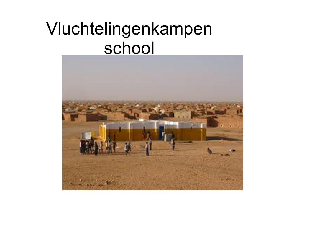 Vluchtelingenkampen school