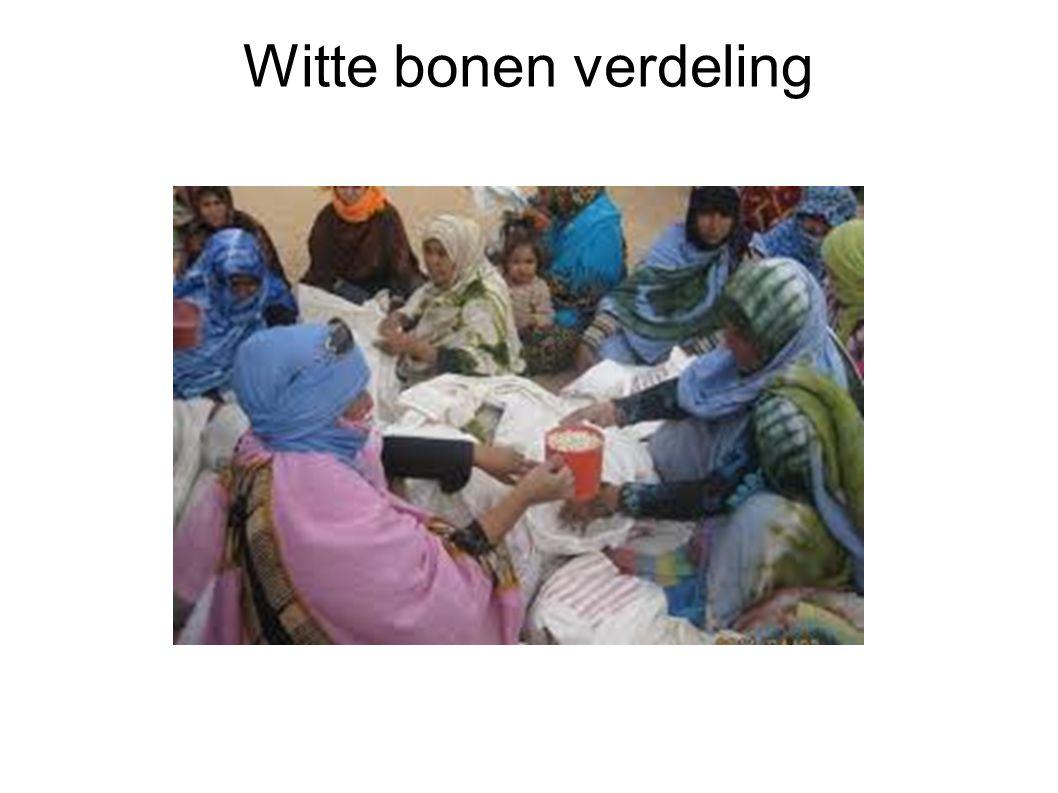 Witte bonen verdeling