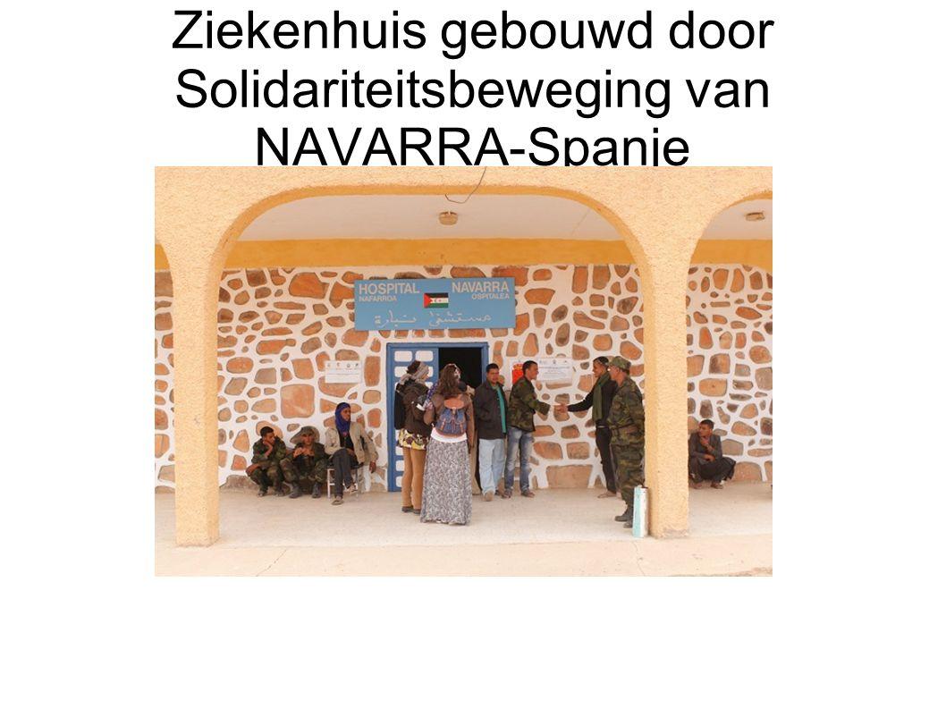 Ziekenhuis gebouwd door Solidariteitsbeweging van NAVARRA-Spanje