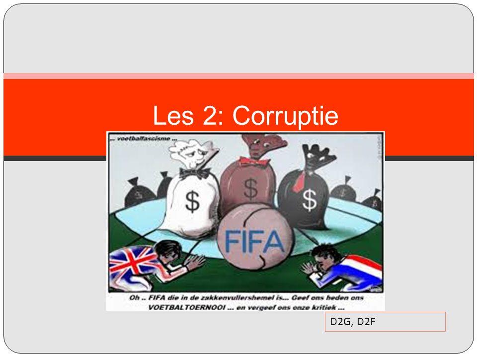 Les 2: Corruptie D2G, D2F