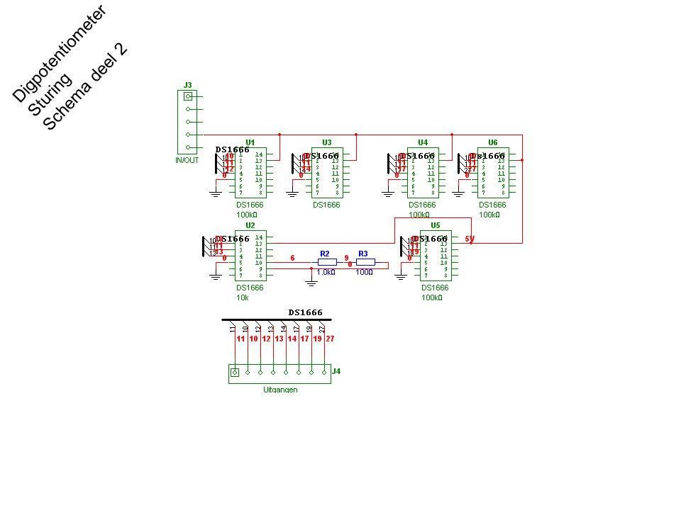 Digpotentiometer Sturing Schema deel 2