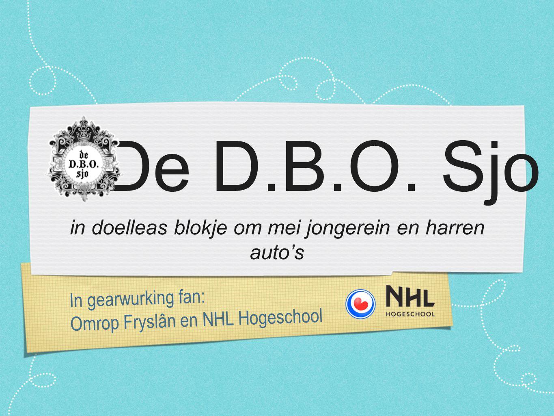 In gearwurking fan: Omrop Fryslân en NHL Hogeschool De D.B.O.