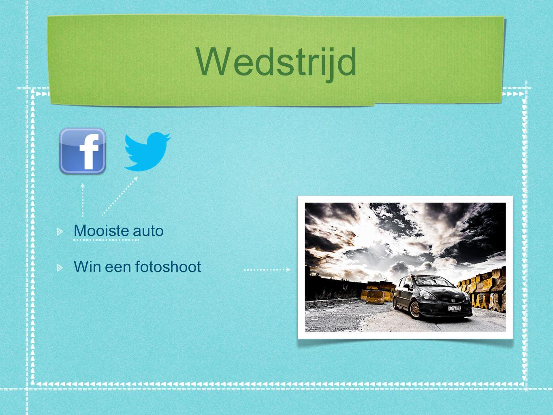 Wedstrijd Mooiste auto Win een fotoshoot