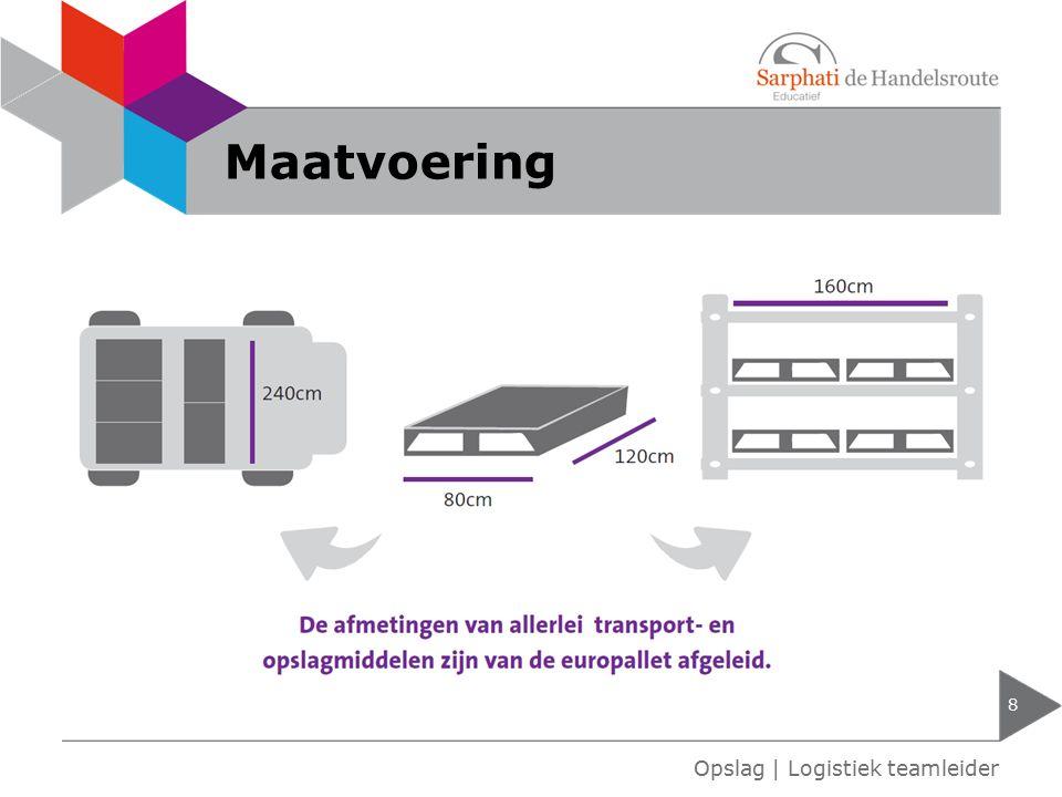 Lastzwaartepuntdiagram 9 Opslag | Logistiek teamleider