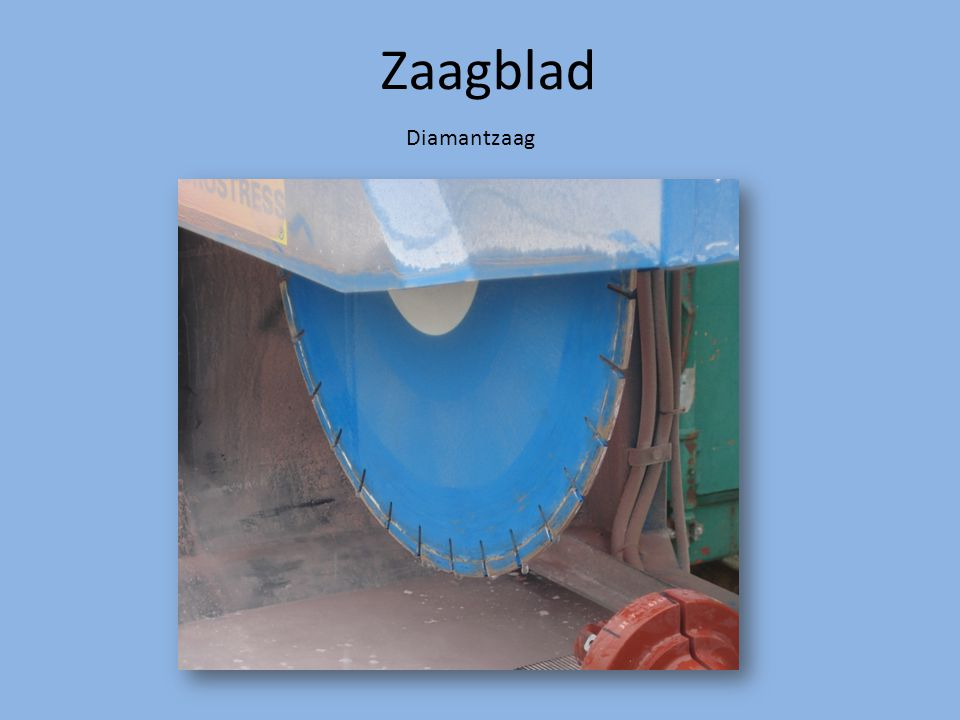 Zaagblad Diamantzaag