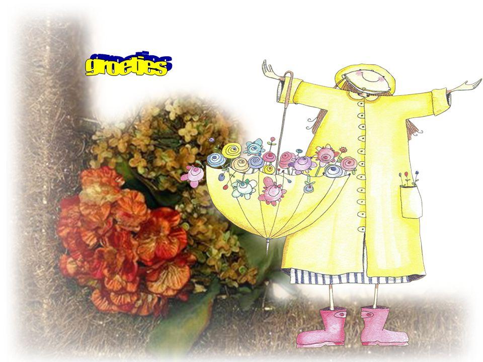 Denk niet steeds wat komt er morgen! Het Leven gaat zo snel voorbij… Denk niet steeds aan al die zorgen Geniet en wees een beetje blij!!
