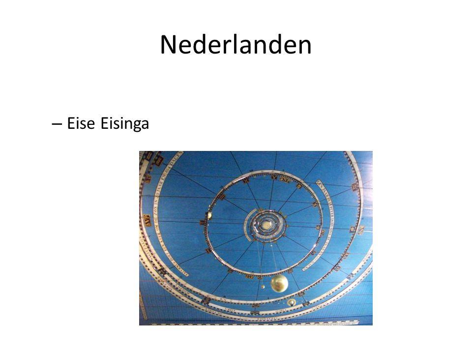 Nederlanden – Eise Eisinga