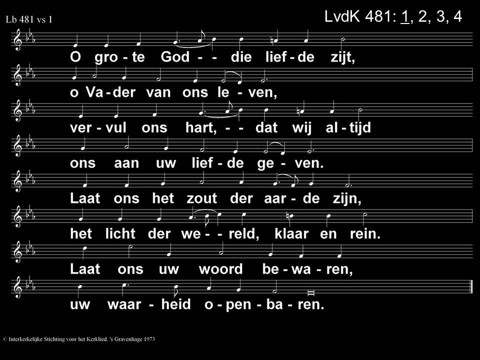 LvdK 481: 1, 2, 3, 4