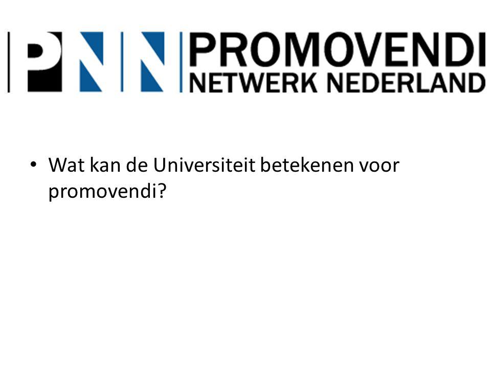 Hoe kan het PPP (Breder?) in samenwerking met Universiteit bijdragen.