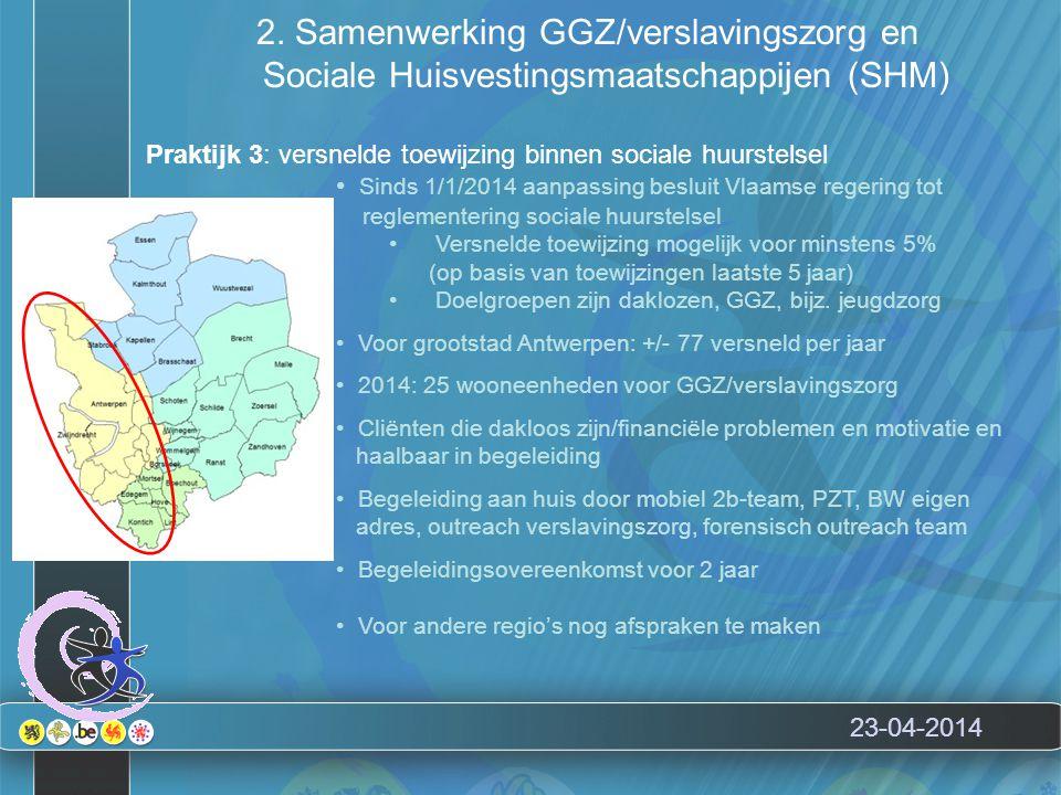 23-04-2014 Enkele conclusies Betaalbaar wonen is een recht…ook voor mensen met ernstige psychische kwetsbaarheid.
