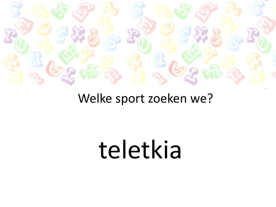 nintse Welke sport zoeken we?