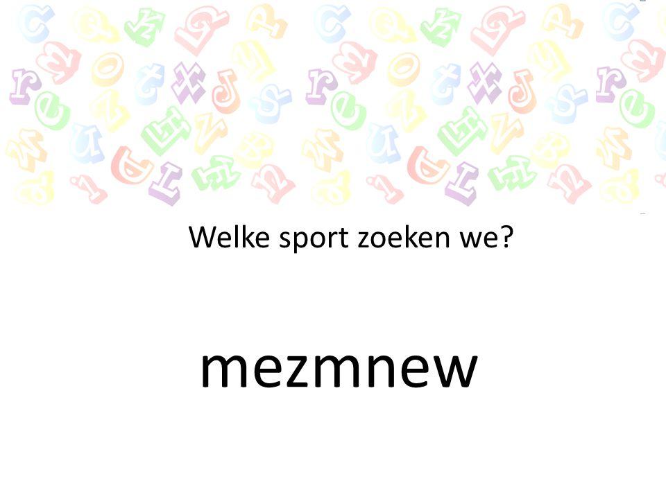 teletkia Welke sport zoeken we?