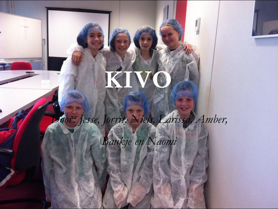 KIVO Door: Jesse, Jorrit, Niels, Larissa, Amber, Baukje en Naomi