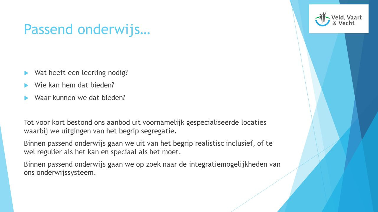 De integratieklas Exporteren we ons probleem?Importeren we de oplossing?