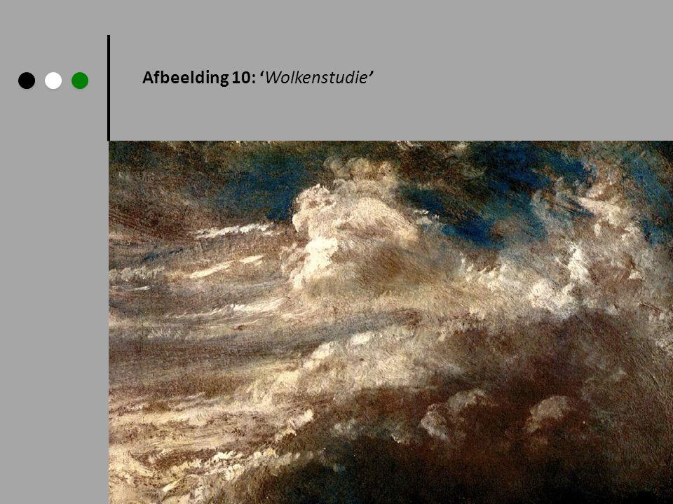 Afbeelding 10: 'Wolkenstudie'