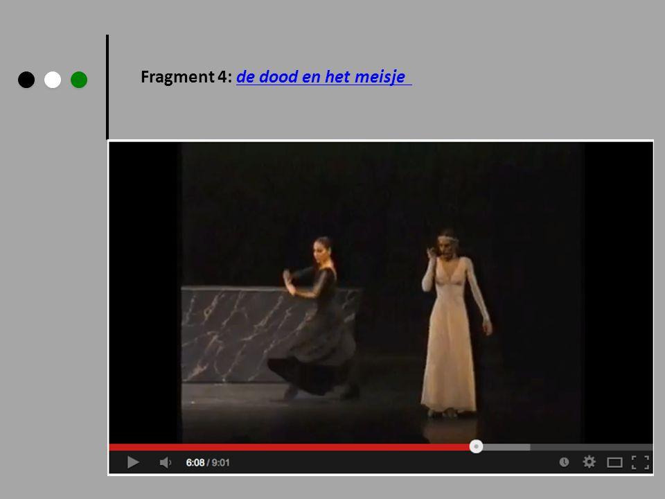 Fragment 4: de dood en het meisjede dood en het meisje
