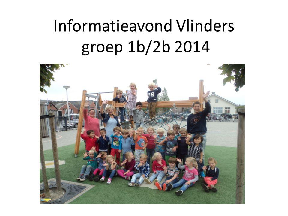 Informatieavond Vlinders groep 1b/2b 2014
