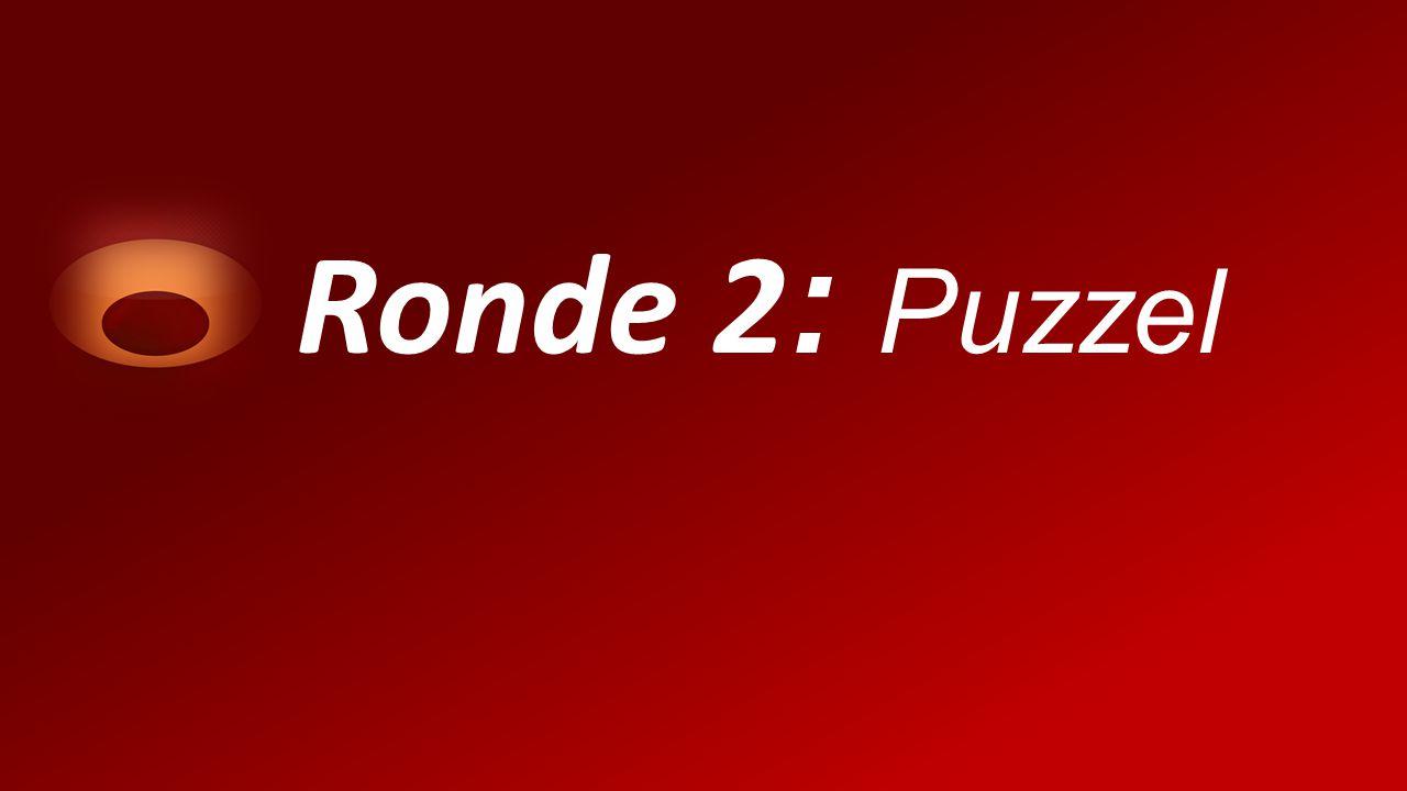 Ronde 2 : Puzzel