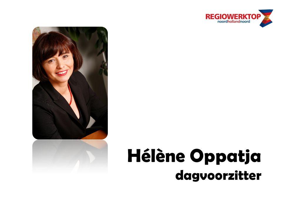 Hélène Oppatja dagvoorzitter