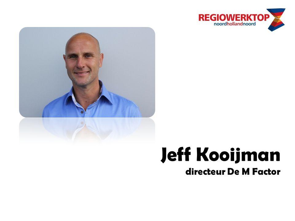 Jeff Kooijman directeur De M Factor