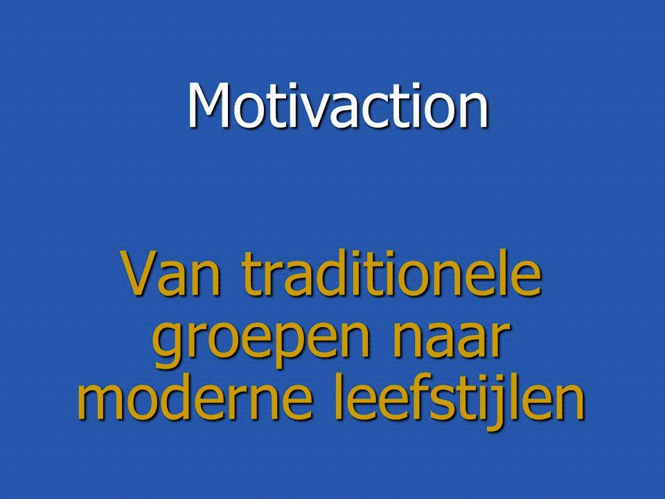 Van traditionele groepen naar moderne leefstijlen Motivaction