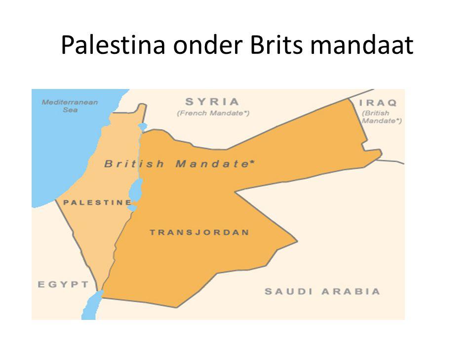Palestina onder Brits mandaat
